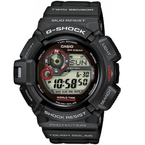 Casio G-Shock Men's Mudman Solar Digital Watch G-9300-1ER