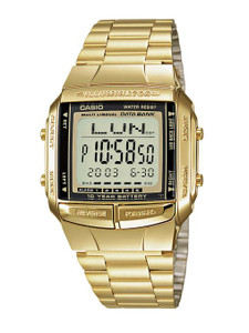Casio Men's Digital Databank Bravelet Watch Db-360Gn-9AEF