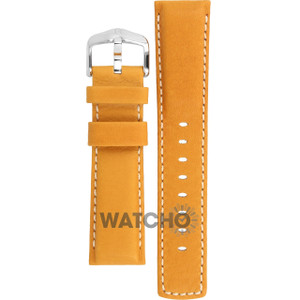 Hirsch Mariner Replacement Watch Strap Golden Brown Leather 22mm With Pins