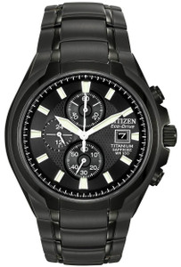 Citizen Titanium Eco-Drive Sapphire Crystal Chronograph Watch CA0265-59E
