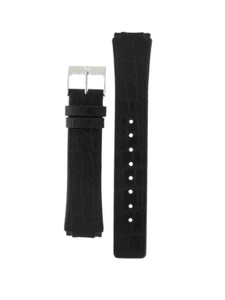 Skagen Replacement Watch Strap Black Leather For 331XLSLB With Screws