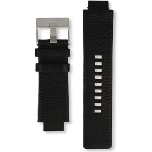 Diesel Replacement Watch Strap For DZ1089 And DZ1091 Black Genuine Leather