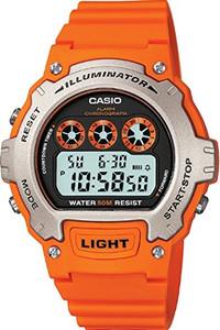 Casio Unisex Alarm Chronograph Watch W-214H-4AVEF