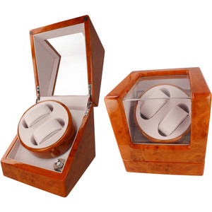 Orbit Automatic Dual Watch Winder With 4 Modes