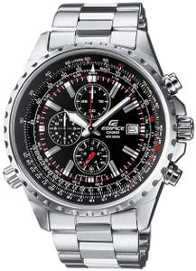 Casio Edifice Men's Black Dial Chronograph Watch EF-527D-1AVEF