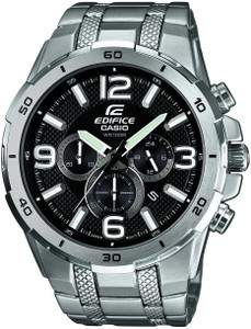 Casio Edifice Men's Black Dial With Date Chronograph Watch EFR-538D-1AVUEF