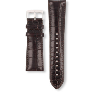 Armani Replacement Watch Strap For AR0286 Brown Genuine Leather