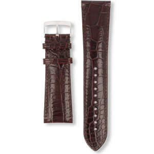 Armani Replacement Watch Strap For AR0402 Brown Genuine Leather