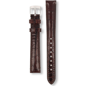 Armani Replacement Watch Strap For AR0205 Brown Genuine Leather