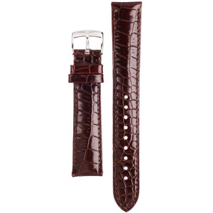 Armani Replacement Watch Strap For AR0404 Brown Genuine Leather