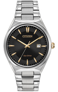 Citizen Men's Eco-Drive Black Dial Watch BM7310-56H