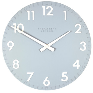 Thomas Kent Camden Designer Sea Blue Wall Clock (30 cm)