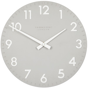 Thomas Kent Camden Designer Wall Clock Smoke Colour CK12113 (30 cm)