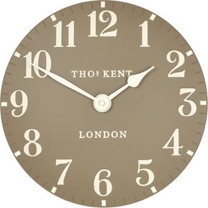 Thomas Kent Arabic Designer Wall Clock Taupe Colour CK12020 (30 cm)