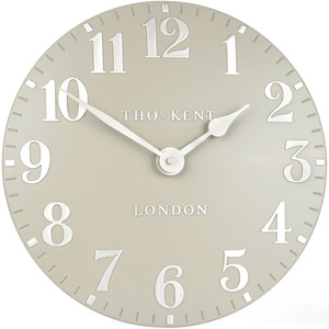 Thomas Kent Designer Wall Clock Cool Mink CK12072 (30 cm)
