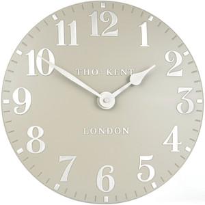 Thomas Kent Designer Wall Clock Cool Mink CK12072 (30 cm)