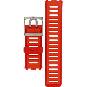 Polar Replacement Watch Strap For RC3 Red Orange
