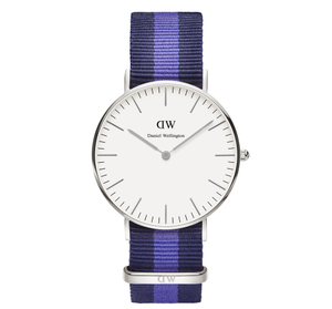 Daniel Wellington Swansea Silver Watch 0603DW