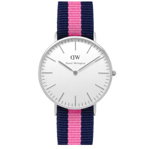 Daniel Wellington Winchester Silver Watch 0604DW
