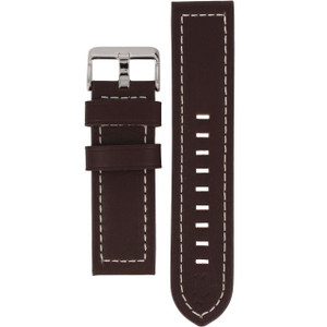 Police Genuine Replacement Watch Strap Brown Genuine Leather 24mm For 12591JSBNS/65