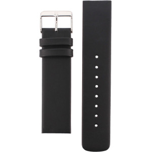 Skagen Replacement Watch Strap Black Leather For 224LSL