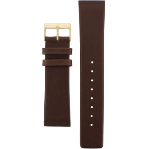 Skagen Brown Leather Watch Strap for 233XXGL