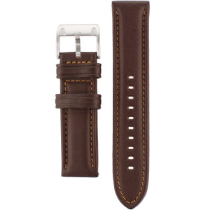 Fossil Brown Leather Watch Strap For CH2559 with Free Connecting Pins
