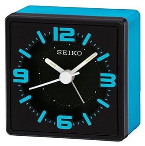 Seiko Blue Analogue Bedside Alarm Clock