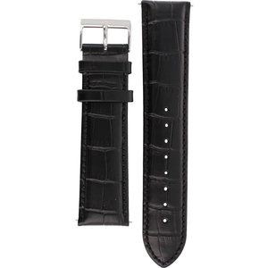 Hugo Boss Replacement Watch Strap Black Genuine Leather 22mm HB 85.1.14.2186