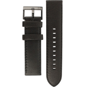Armani Exchange Replacement Watch Strap For AX2098 Black Genuine Leather