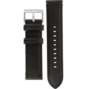 Armani Exchange Replacement Watch Strap For AX2101 Black Genuine Leather