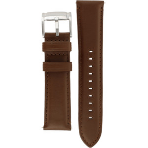 Replacement Strap for Fossil FS4813 Brown Genuine Leather With Free Pins