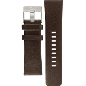 Replacement Strap for Diesel DZ1206 Brown Genuine Leather