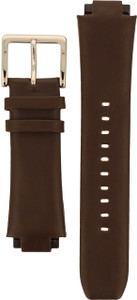 DKNY Watch Replacement Brown Leather Strap For NY1319 With Free Connecting Pins