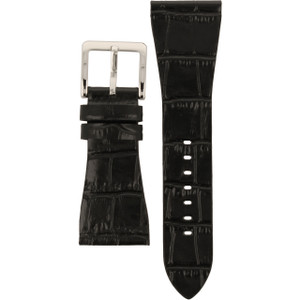 DKNY Watch Replacement Black Leather Strap For NY4179
