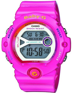 Pink Baby-G Watch Digital Dial Chronograph BG-6903-4BER