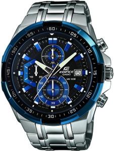 Casio Edifice Chronograph Black Dial Bracelet Watch EFR-539D-1A2VUEF