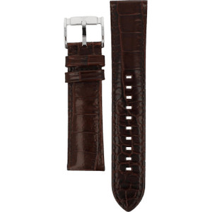 Armani Replacement Watch Strap Black Leather For AR2427