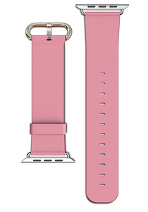 Apple Watch Replacement Strap Pink Leather 42mm
