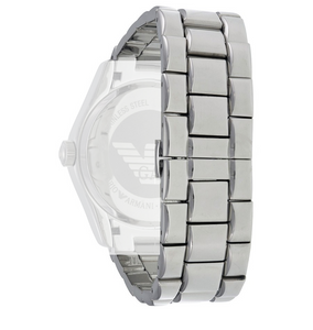Armani Replacement Watch Bracelet For AR0680 Silver Stainless Steel With Free Connecting Pins