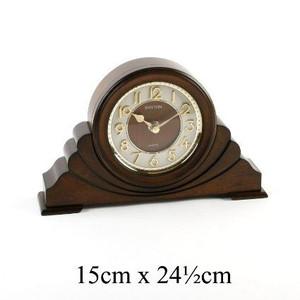 Rhythm Classic Brown 3D Dial Napoleon RHYTHM Mantel Clock CRG108NR06