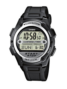 Casio W-756-1AVEF Mens Digital Resin Strap watch Watch
