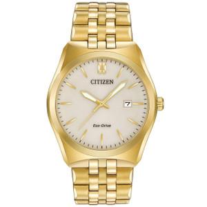 Citizen Gent's Gold Tone Corso Bracelet Watch BM7332-53P
