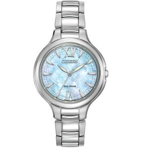 Citizen Ladies Two Tone Silhouette Bracelet Watch EP5990-50D