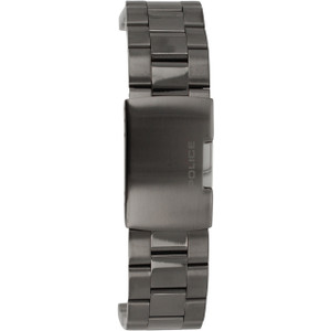 Police Replacement Watch Bracelet Gun Metal Grey For 14343JSUB/02M