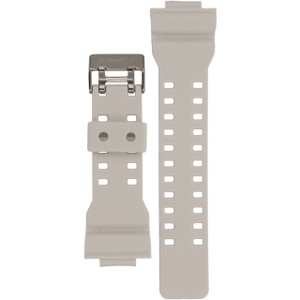 G-Shock White Replacement Watch Strap 10395227 For GA-1, GD-100WW-7, GW-8900TR-7 Series