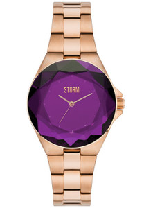 STORM Crystana Purple Ladies Bracelet Watch