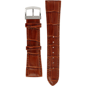 Citizen Replacement Watch Strap Brown Crocodile Embossed Leather 59-S52073 For BV1060-15E