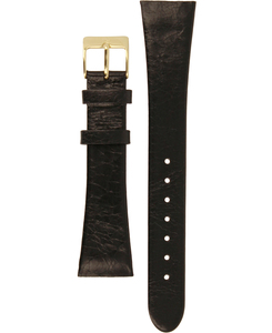 Skagen Replacement Watch Strap Black Leather 20mm For 523XSGLB