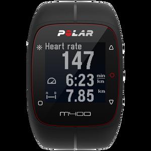 Polar M400 GPS Running Watch Black 90051341 with Heart Rate Sensor